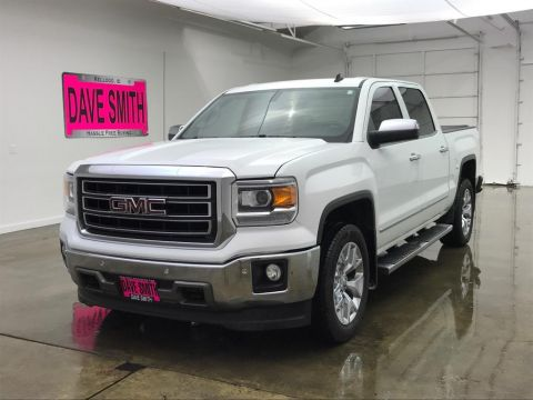 Pre-Owned 2014 GMC Sierra 1500 SLT Crew Cab Short Box