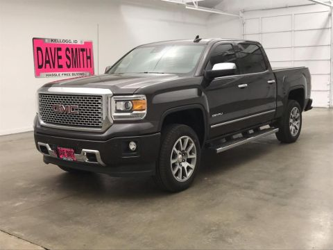 Pre-Owned 2015 GMC Sierra 1500 Denali Crew Cab Short Box