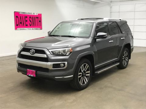 Pre-Owned 2017 Toyota 4Runner SR5 Limited