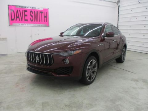 New 2018 Maserati Levante North America specification S